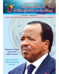 The time of the celebration of the Fiftieth Anniversary of the Reunification of Cameroon : Bulletin No.1