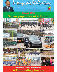 "Bulletin No.51 of the bilingual newsletter of the Civil Cabinet, ""Le Temps des Réalisations"""