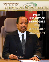 "Bulletin No.64 of the bilingual newsletter of the Civil Cabinet, ""Le Temps des Opportunités"""