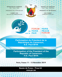Press Kit on the Second Paris Peace Forum