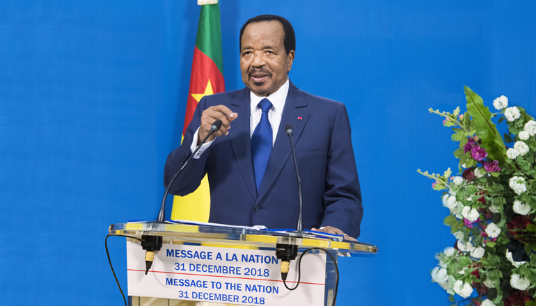Message de S.E. Paul BIYA à la Nation - 31 Décembre 2018