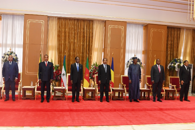 Unity Palace Welcomes CEMAC Heads of State