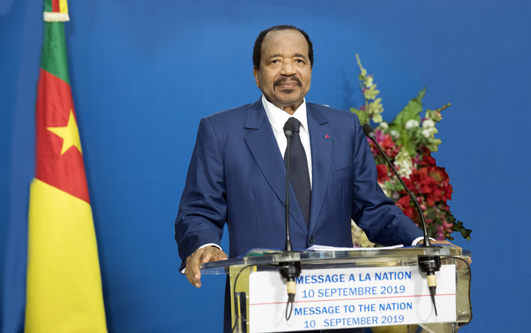 Nord-Ouest/ Sud-Ouest. Paul Biya convoque un grand dialogue national