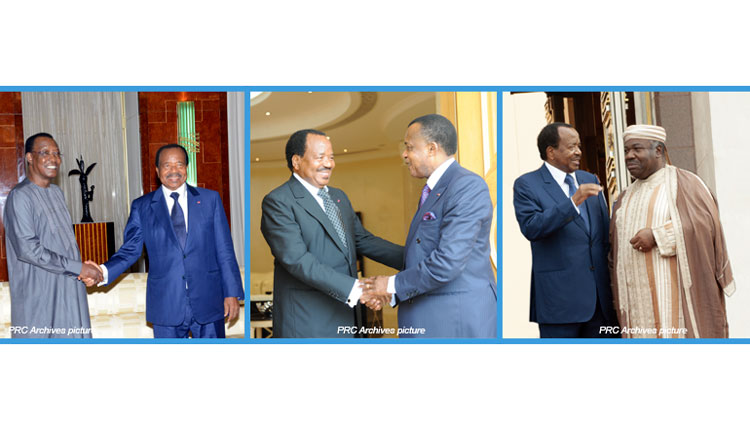 The Head of State congratulates his colleagues of Central Africa