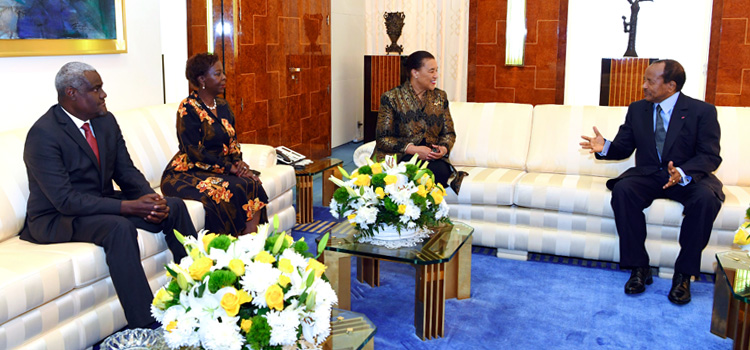 President Paul BIYA Discusses Peace Process with African Union, Commonwealth, La Francophonie Leaders