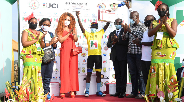 Grand Prix Cycliste Chantal Biya. La surprise de la Marraine