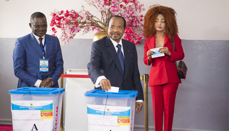 Presidential Couple cast their votes in legislative and municipal elections