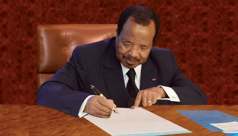 Ecole Nationale d'Administration et de Magistrature: Paul BIYA réorganise