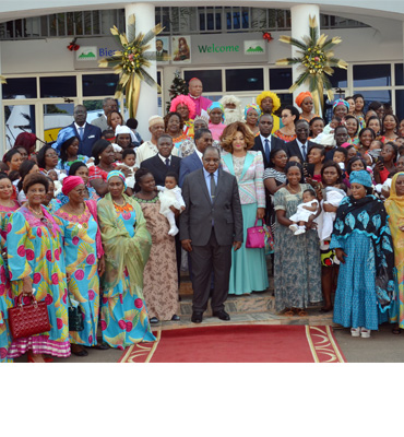 First Lady Chantal BIYA Reviews Activities of the Endoscopic Surgery Centre