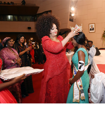 Mrs. Chantal BIYA Crowns Miss Cameroon 2018