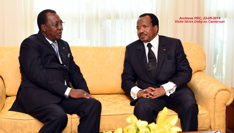The Head of State sends message of condolences to President Idriss DEBY ITNO