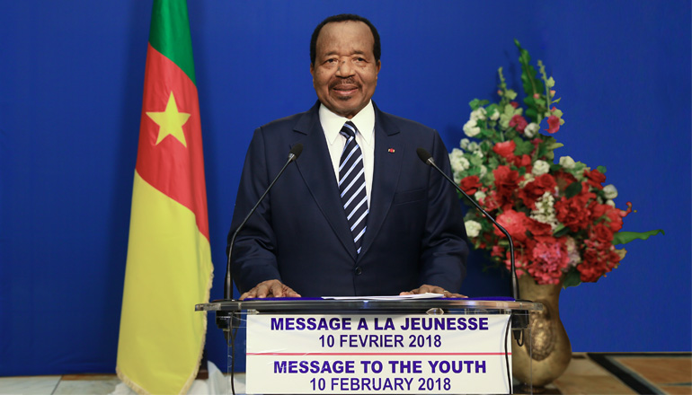 Head of State's message to the Youth on the occasion of the 52nd Edition of the National Youth Day