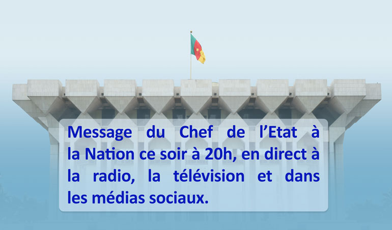 Message à la Nation
